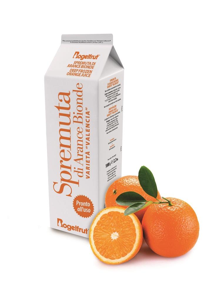 Succo arancio biondo
