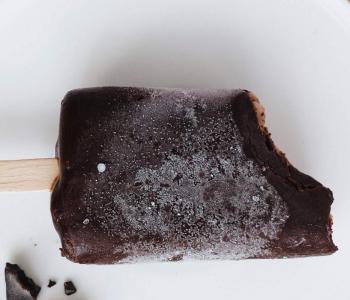 sorbetto açai cioccolato