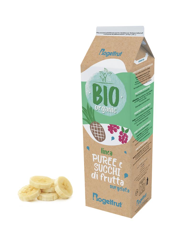 Banana bio purea